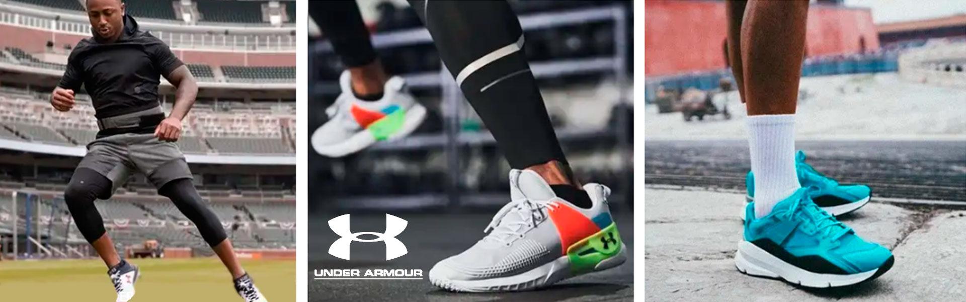 Кроссовки, спортивная обувь Under Armour