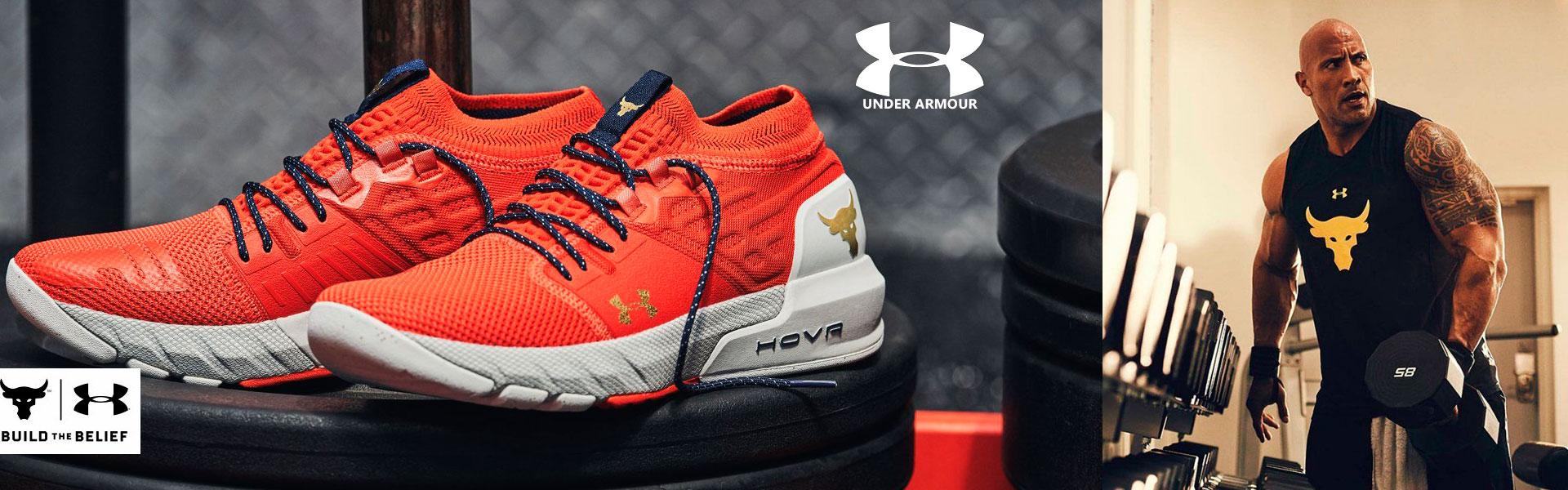 Спортивная одежда и обувь Under Armour