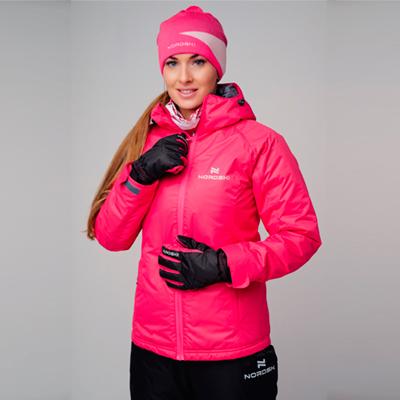 Утепленная куртка Nordski Motion Raspberry
