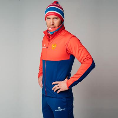 Разминочная куртка NORDSKI Premium patriot