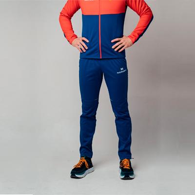 Разминочные брюки NORDSKI Premium patriot